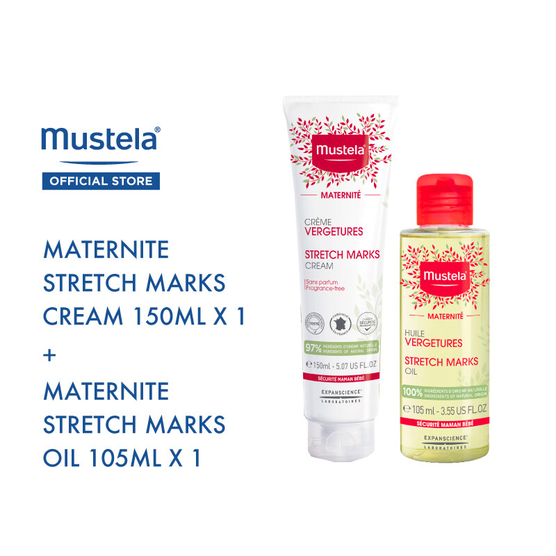 MUSTELA Maternity Skincare Bundle Set