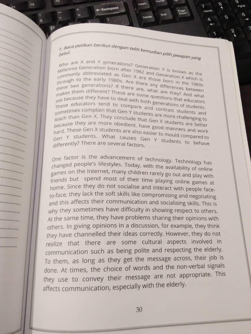 Project A+ English Reading Comprehension PT3 & SPM BM & BI Dwibahasa Dual Language (Ready Stock)