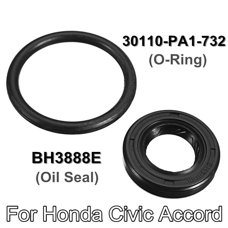 Automotive Tools & Equipment - Oil Seal + O-Ring Internal Kit For Honda Civic Accord #BH3888E 30110-PA1-732 - Car Replacement Parts