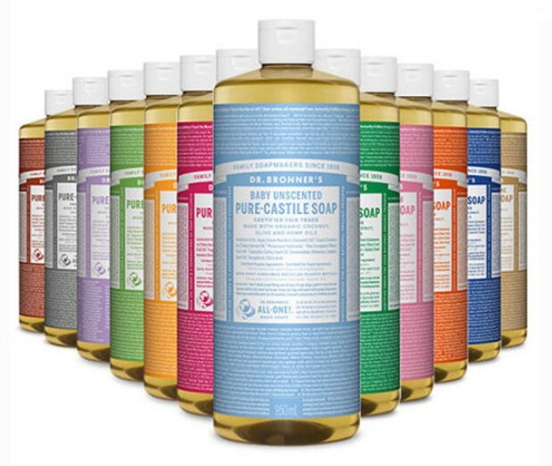 Dr Bronner's Dr Bronner Pure Castile Soap 950ml Value Size
