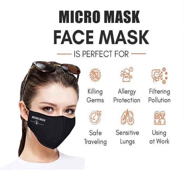 HAIRperone Micro Mask Reusable Face Mask