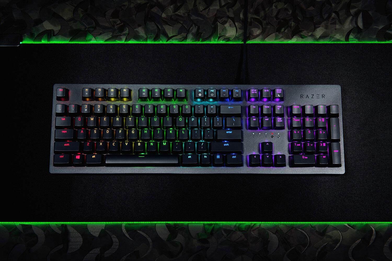 Razer Huntsman OPTO Mechanical Wired Gaming Keyboard (RZ03-02520100-R3M1)