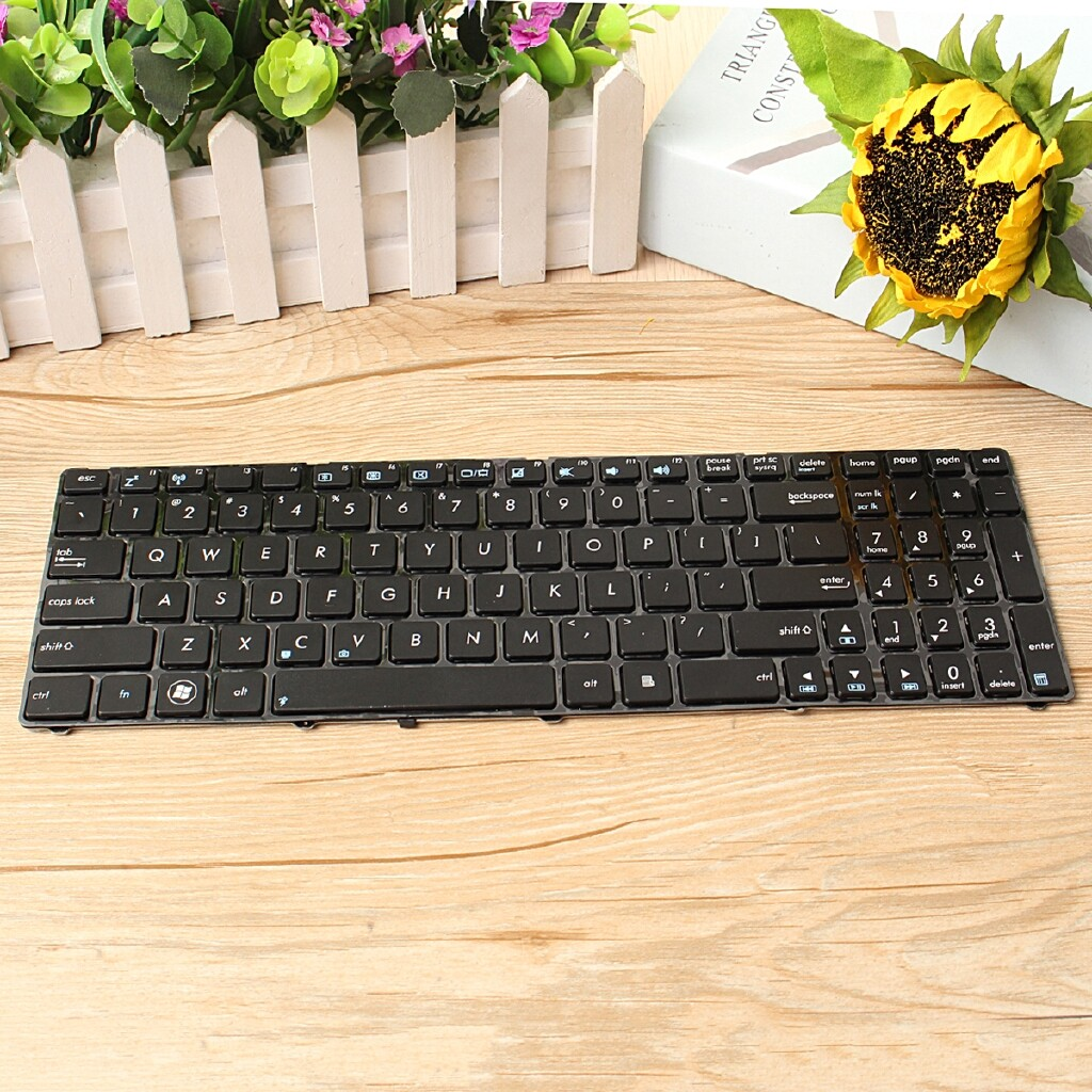 Keyboards - Black Simple Keyboard For ASUS - Computer Accessories