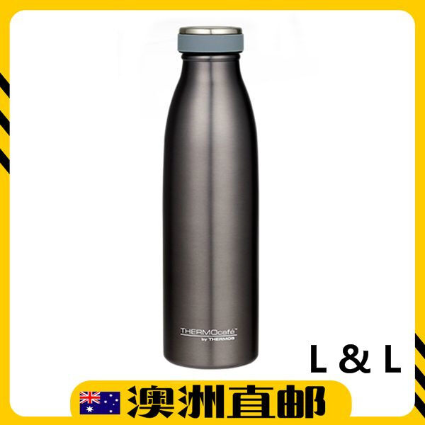 [Pre Order] Thermos THERMOcafé Vacuum Insulated Bottle 500mL - Silver (Import from Australia)