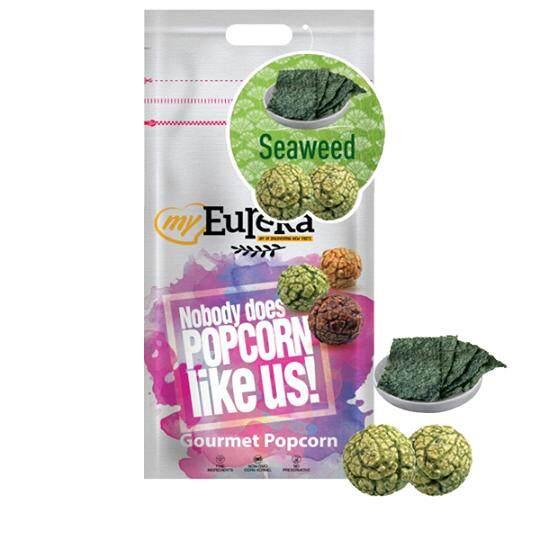 Eureka Seaweed Popcorn Snack (Aluminium pack)