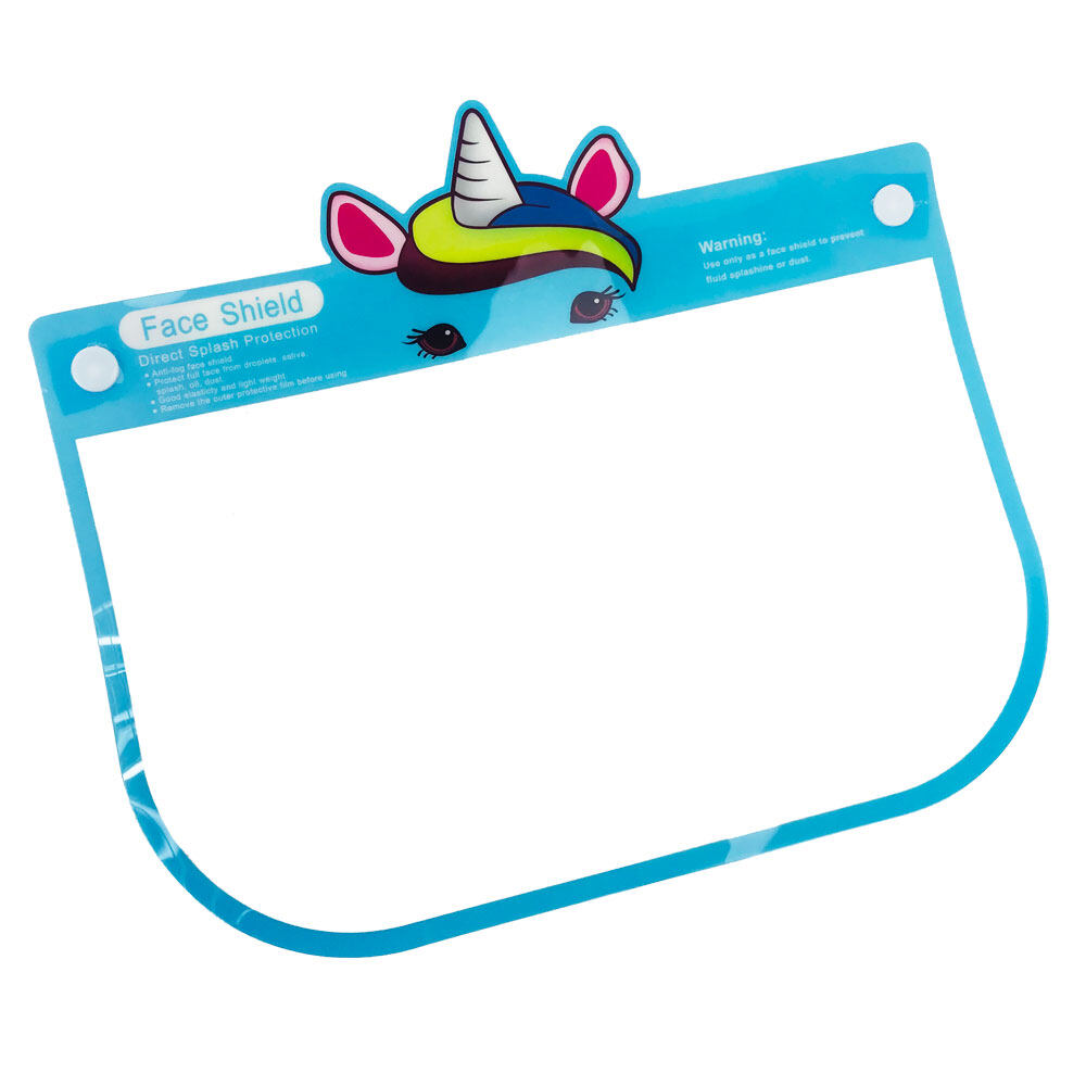 Poly-Pac Kid Safety Protective Kawaii Cute Face Shield Cover Visor
