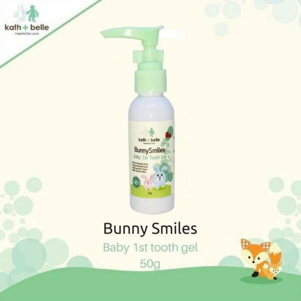 Kath + Belle Bunny Smiles Kids Tooth Gel (Melon) / (Strawberry)