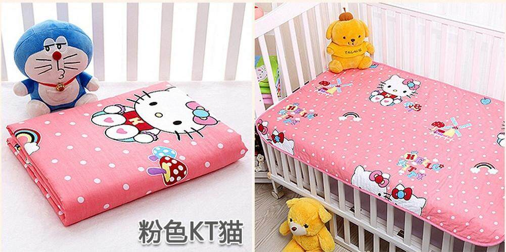 3Layer Washable Pure Cotton Waterproof Nappy Mat Changing Mat Floor Mat durable