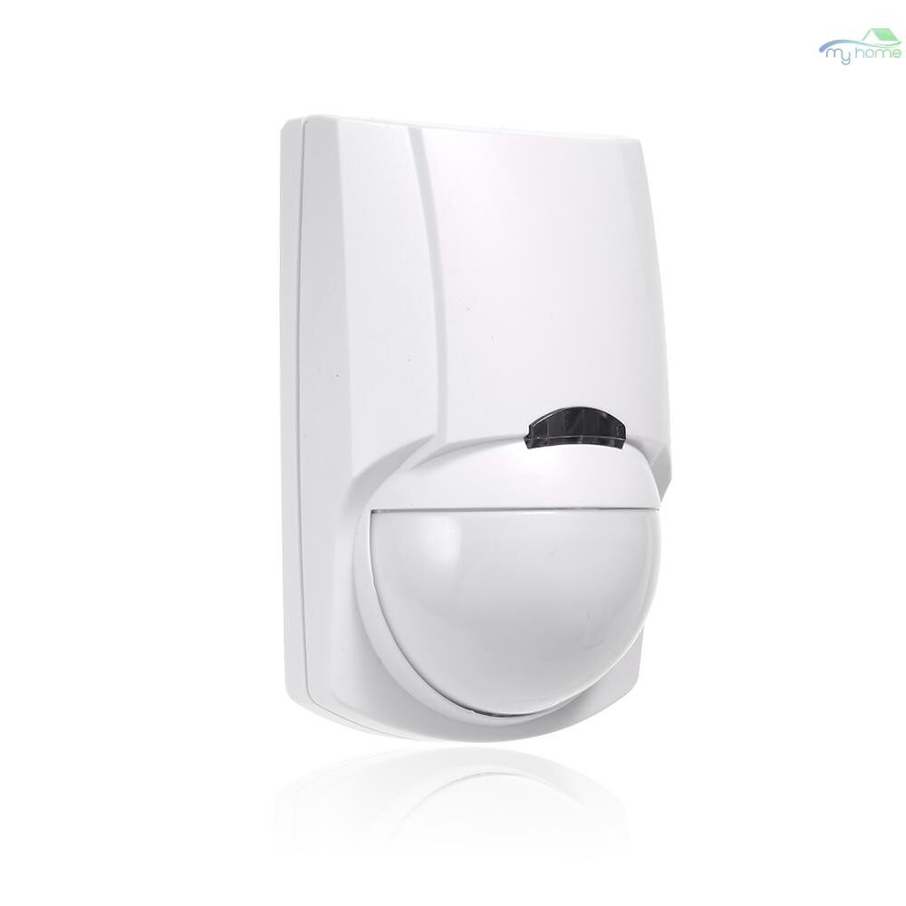 Sensors & Alarms - PIR WIRELESS Dual Infrared Detector 433Mhz RF PIR Motion Sensor Smart Home Automation - WHITE