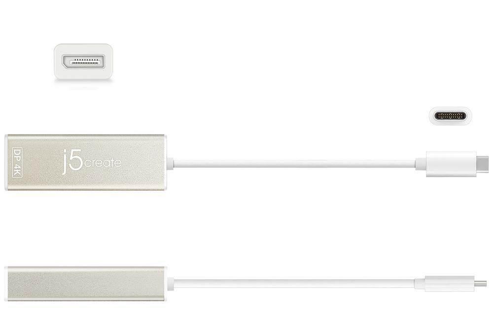 J5 Create JCA140-10 Type-C To 4K Display Port Converter