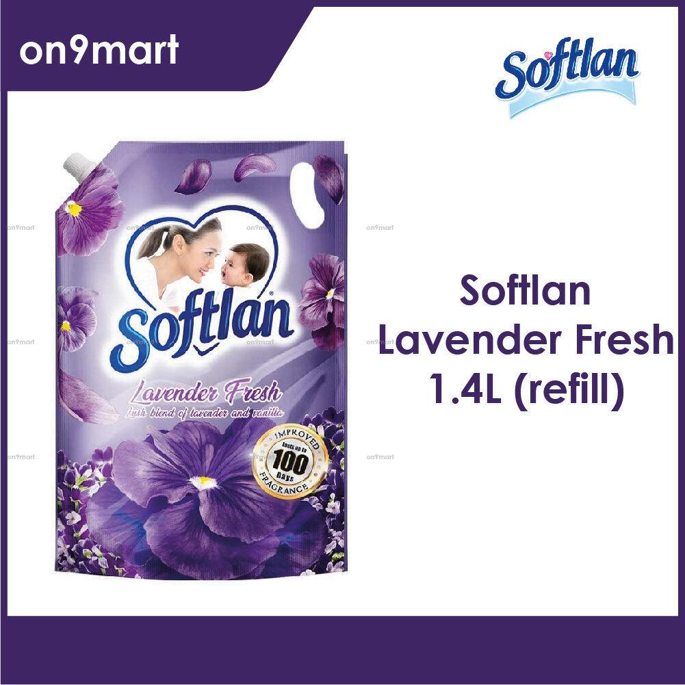Softlan Fabric Softener Refill Lavender 1.4L Purple