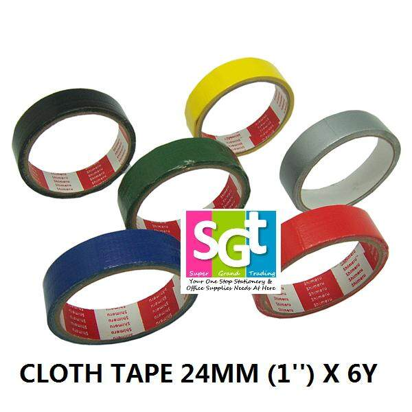 """""""FIX"""" Cloth Tape / Binding Tape 24mm x 6Y (12`s/pack)"""