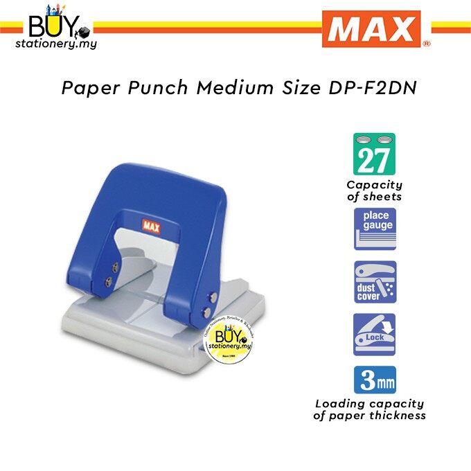 Max Paper Punch Medium Size DP-F2DN - (1s/PCS)