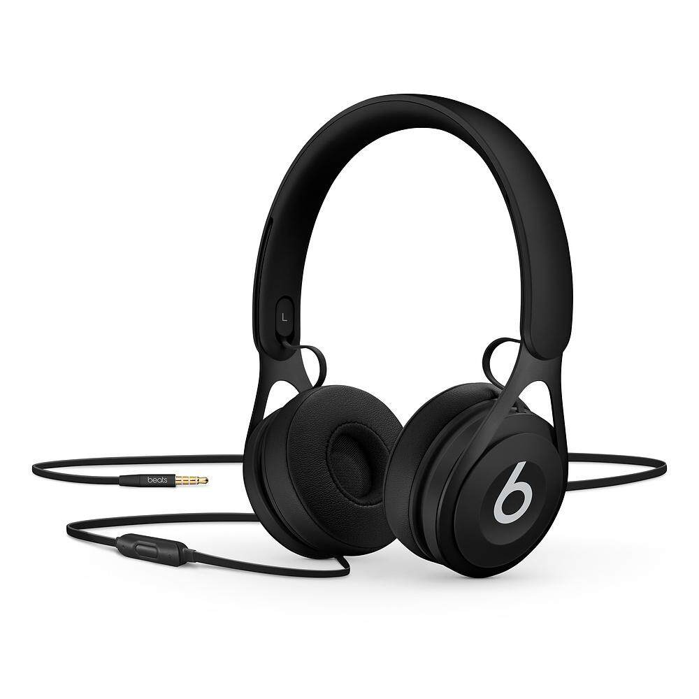 100% Original Beats EP On-Ear Headphones - Black (1 Year Malaysia Warranty)