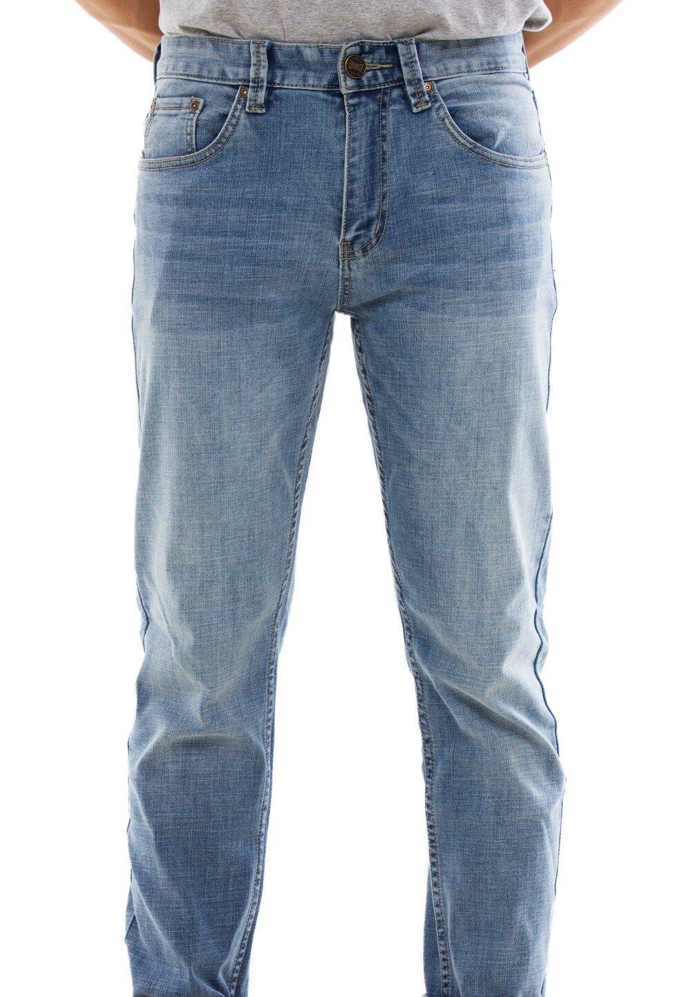 Stretchable Slim Fit Denim Long Pants 778