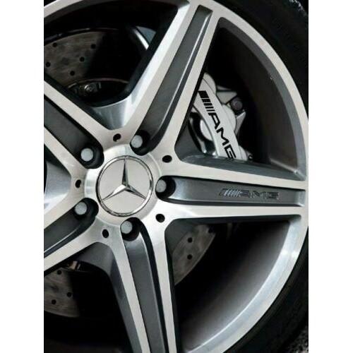 4 PIECE(s) 75MM Chrome Star For Mercedes Benz Wheel Center Caps Emblem Wreath Hubcaps - WHEAT-BLACK / SILVER / WHEAT-BLUE / BLACK