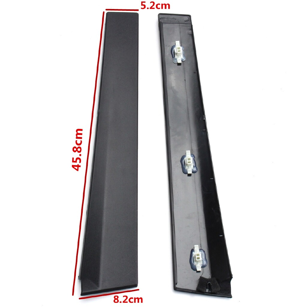Engine Parts - Outer Front 3 Door Moulding Trim Left Hand Passenger For Ford Fiesta MK6 01-08 - Car Replacement