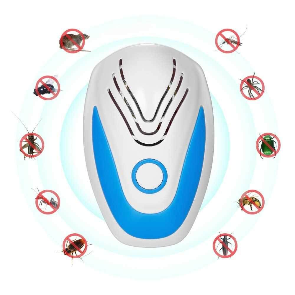 Ultrasonic Plug-in Pest Mouse Control Repeller Harmless Electric Insect Bug Mosquito Cockroach Spider Repeller AC110-230V