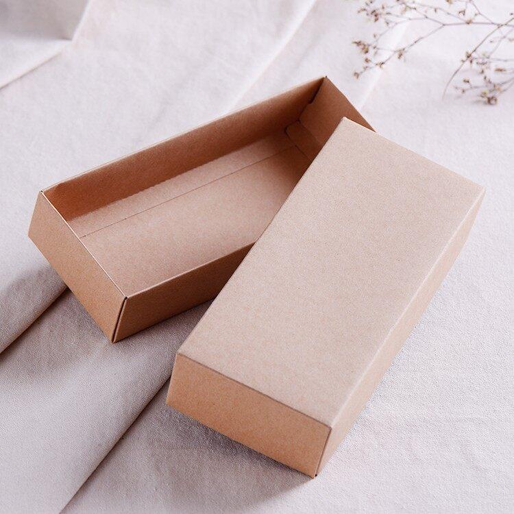 Hard Card Craft Paper Gift Box / pcs Handmade Kotak Hadiah DIY