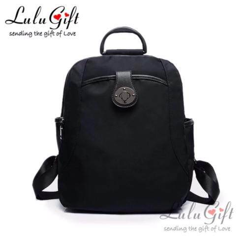 Lulumono New Trend Oxford Knapsack Lady Bag Black
