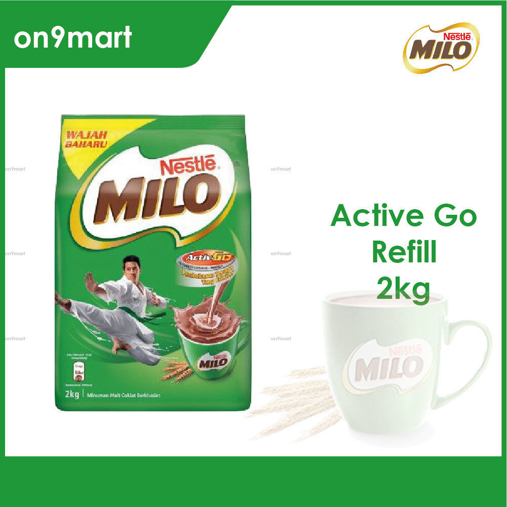 Nestle MILO Activ-Go Chocolate Malt Powder 2kg