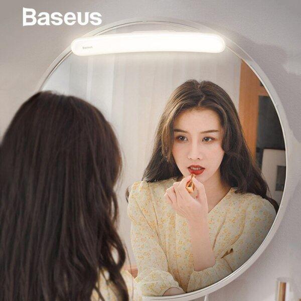 Baseus Usb Led Gương Trang Điểm Gương Vanity Ánh Sáng Có Thể Điều Chỉnh Gương Đèn Trang Điểm Di Động Cho Phòng Tắm Bàn Trang Điểm