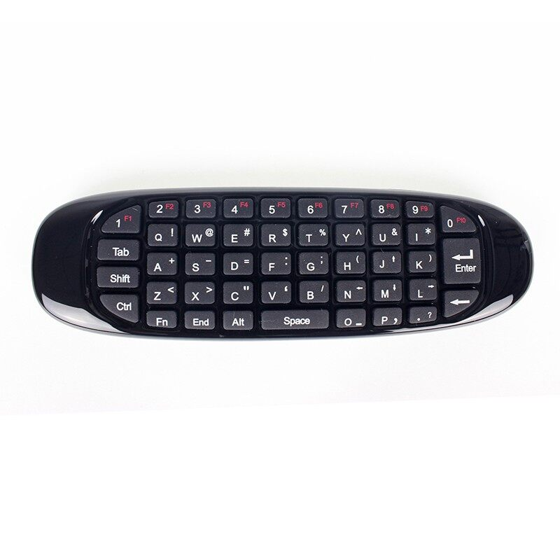 AirMouse T10 Air Mouse Control+WIRELESS Keyboard+3D Somatosensory Handle+USB Receiver - BLACK