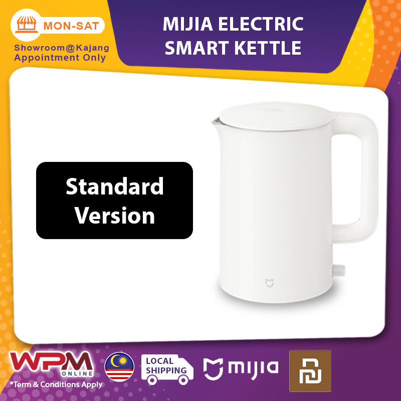 [GLOBAL / CN version] Xiaomi Mijia Electric Smart Kettle App Control 304 Stainless Steel 1.5L/1.7L 1800W Dual Layer Kettle Water Bottle Imported Unit CN Plug MJDSH01YMS MJDSH02YMS MJDSH03YMS YM-K1501 MJHWSH02YM
