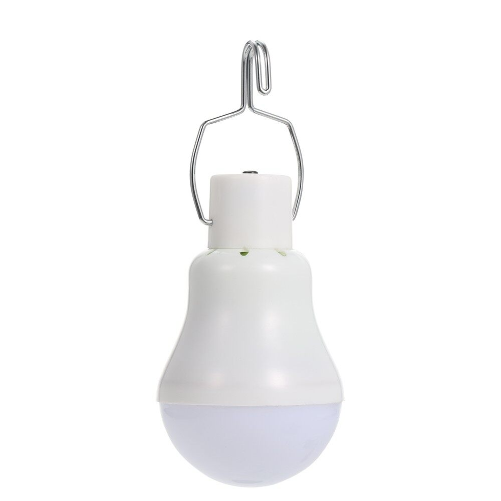 Lighting - Solar Powered Energy LED Light Bulb with Solar Panel Hanging Design IP44 Wa - TYPE 2 / TYPE 1