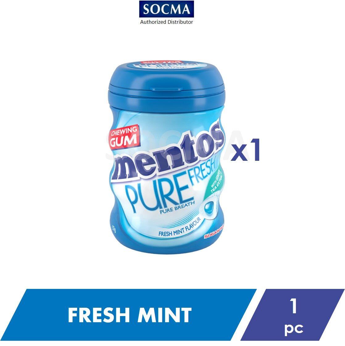 Mentos Pure Fresh French Bottle Fresh Mint 57G [1]