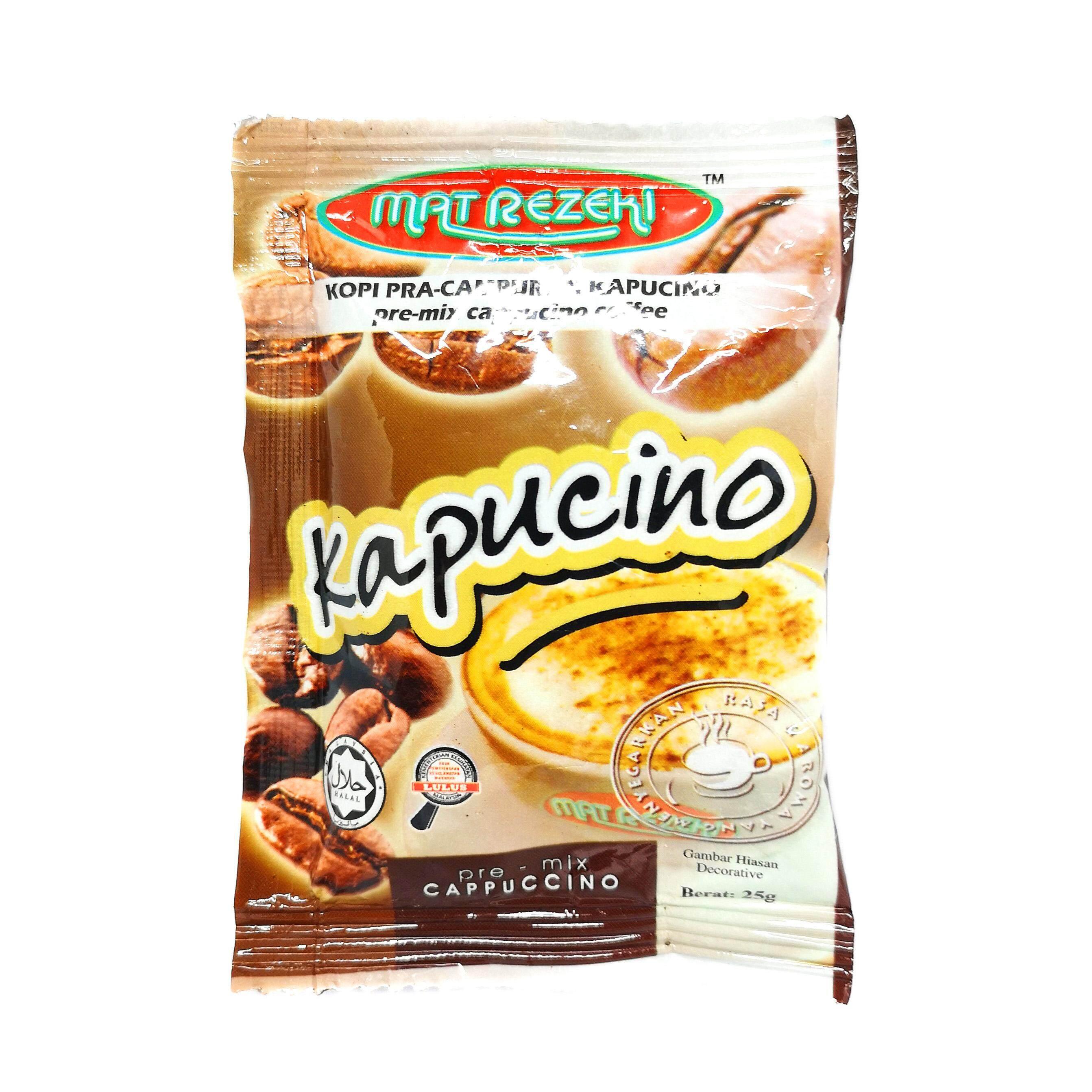 Kopi Pra-Campuran Kapucino Premix Cappucino Coffee