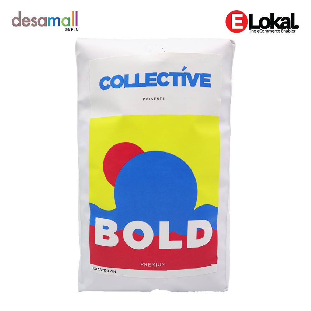 COFFEE COLLECTIVE Bold Premium Blend (1kg) - Jenis Kisaran : Kasar