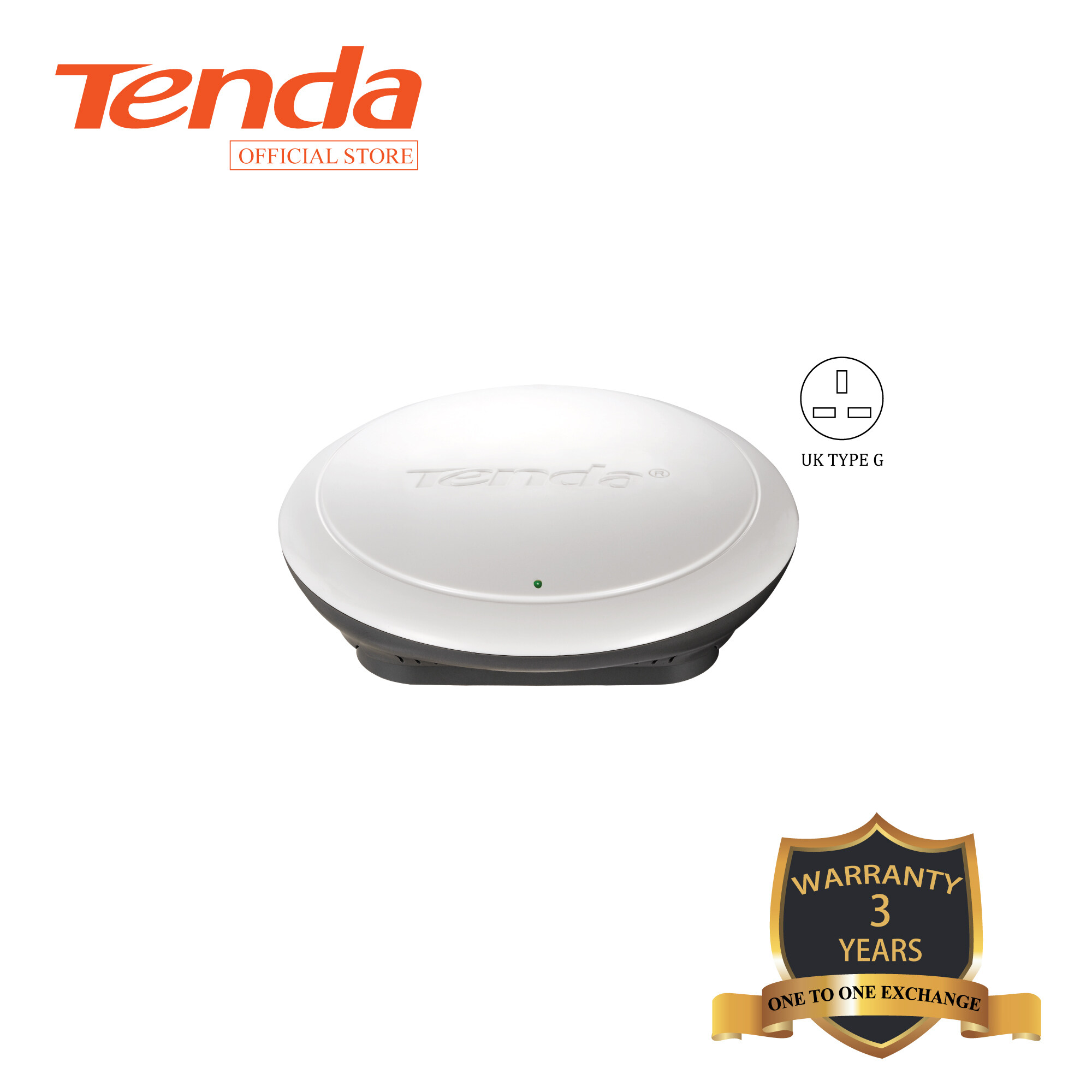 Tenda I12 N300 Ceiling Wireless Access Point