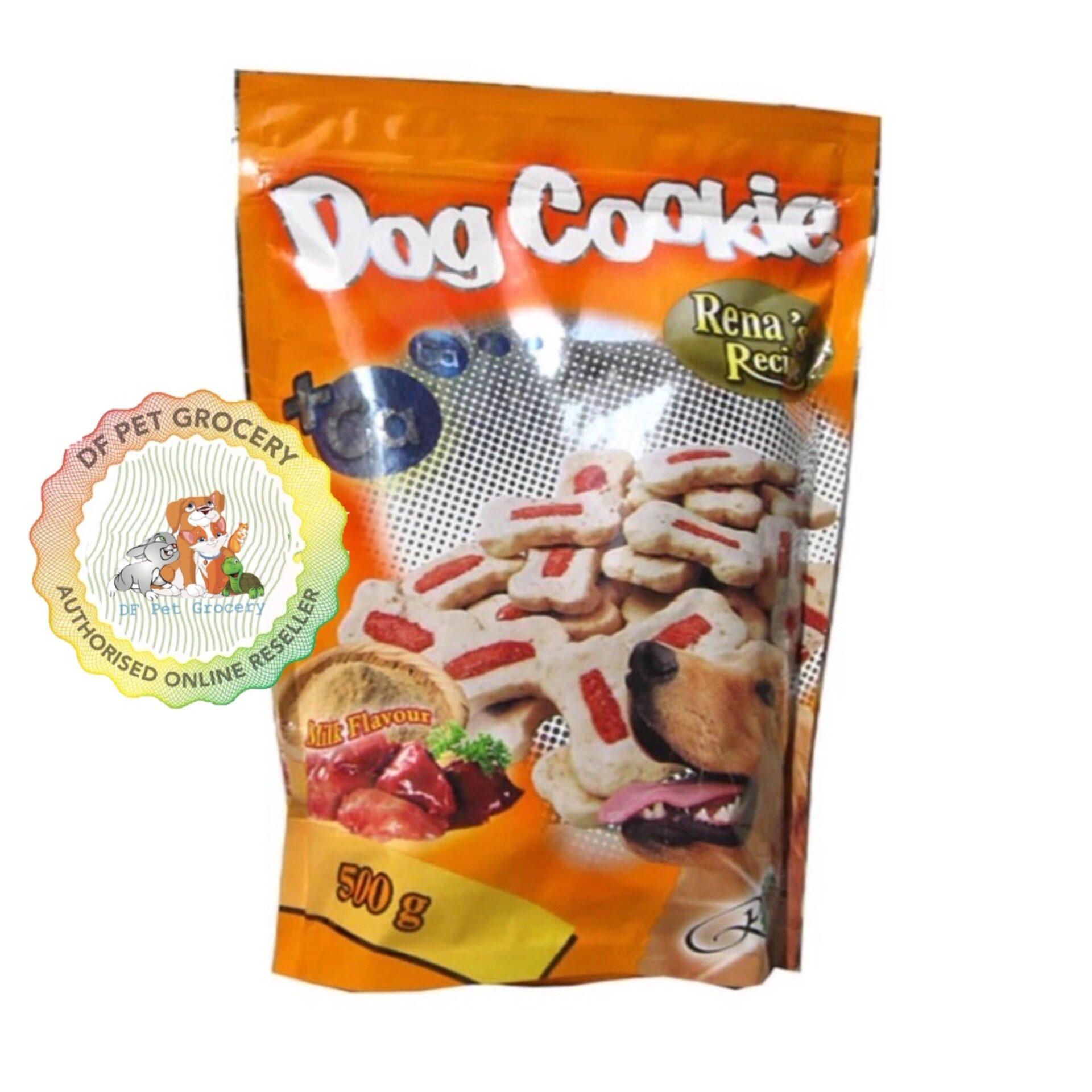Rena Treats Dog Cookie Liver 500gm - Dog Snack