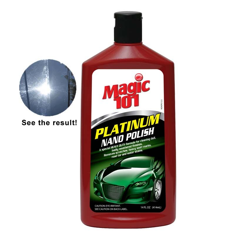 Magic101 Platinum Nano Polish 414ml