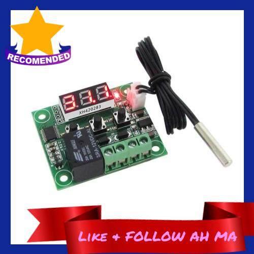 Best Selling -50-110C W1209 DC 12V Digital Mini Thermostat Temperature Controller Control Switch Sensor Module