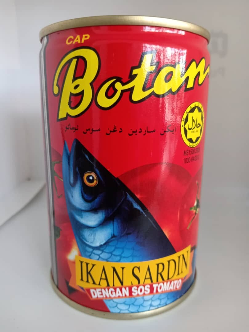 Botan Sardines in Tomato Sauce 425G x 4 Tin