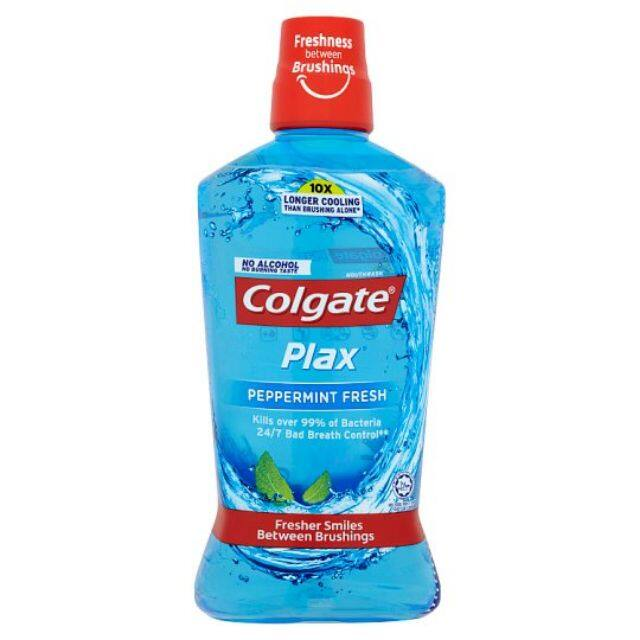 Colgate Plax Peppermint Fresh Mouthwash 750ml