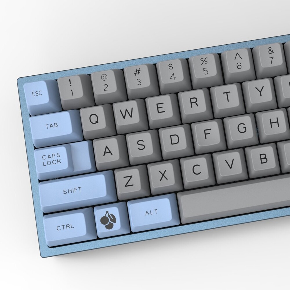 Gaming Keyboards - for Mechanical Keyboard Maxkey 127 Key Blue Gray SA Profile ABS Keycaps Keycap SET - Computer Accessories
