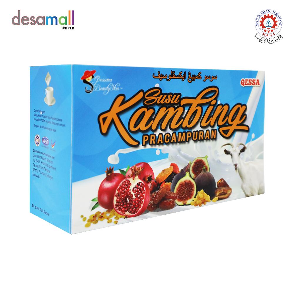 QESSA Susu Kambing Pracampuran (20 sachet x 20g)