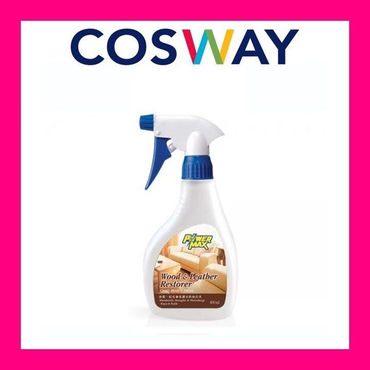[Ready stock] COSWAY Powermax Wood & Leather Restorer + Trigger Sprayer