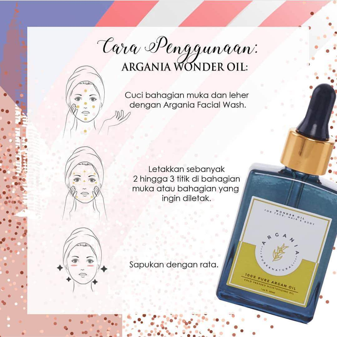 ARGANIA WONDER OIL (BLUE)