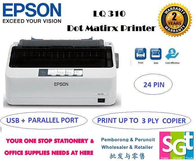 EPSON LQ-310 Dot Matrix Printer
