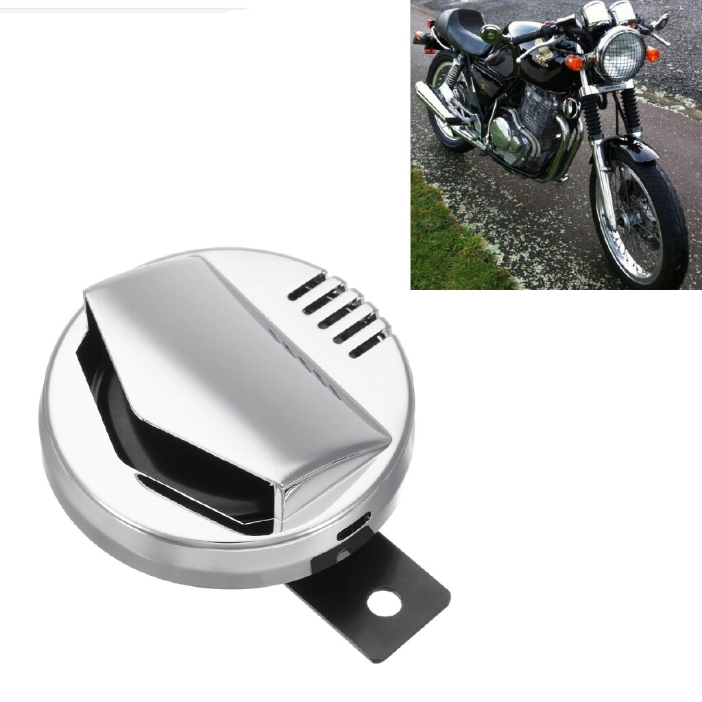 Moto Accessories - 12V 2A Super Loud 110db Motorcycle Electric Horn 94mm For Harley Honda Bobber - Motorcycles, Parts