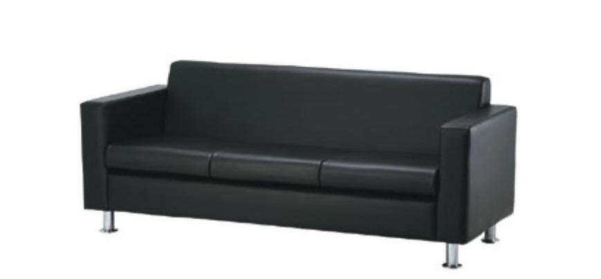 (FREE Delivery Klang Valley) Tivo Triple Seater Sofas Chair, (Fully Leather)
