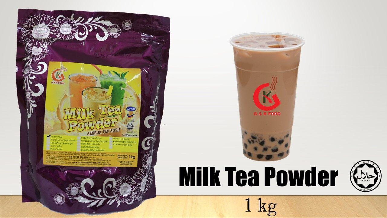 [100% JAKIM HALAL] 1KG Milk Tea Powder