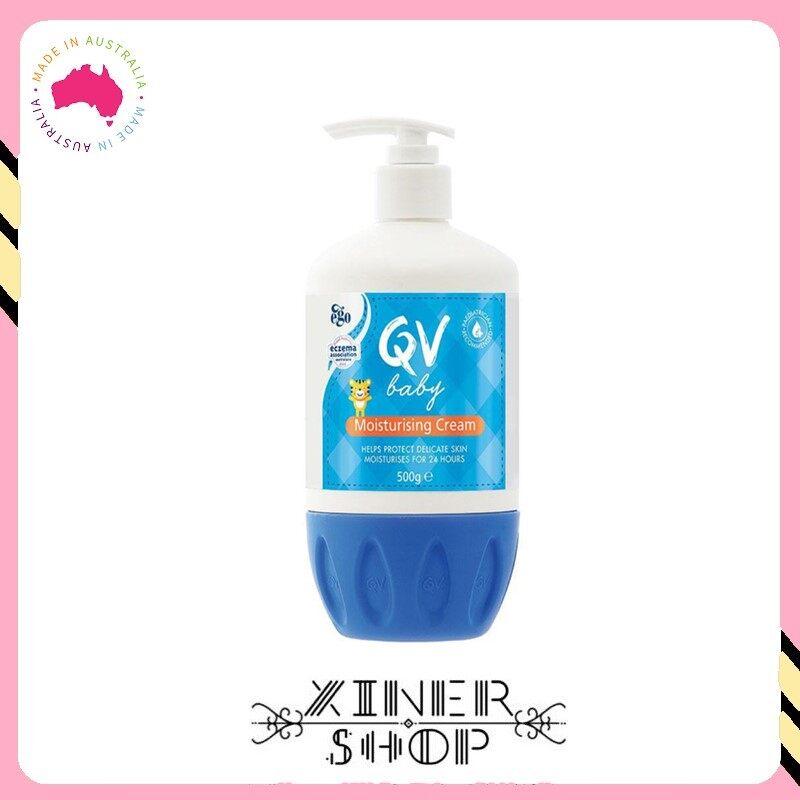 [Pre Order] Ego QV Moisturising Cream Pump ( 500g )(Made in Australia)