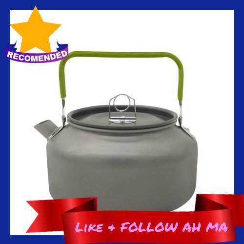 Best Selling 1.2L Outdoor Portable Coffee Teapot Kettle Camping Hiking Picnic BBQ Kettle Water Pot Aluminium Alloy Tea Kettle (Standard)