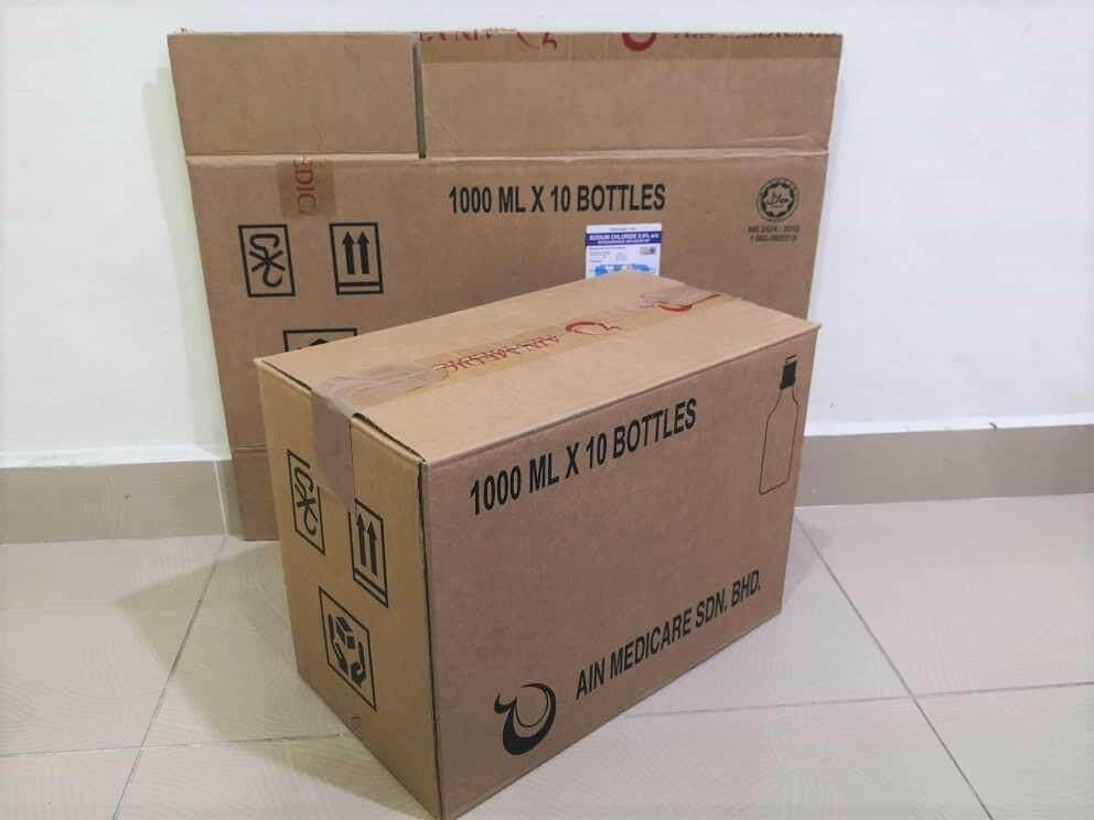 10pcs Used Carton Boxes (L370 X W205 X H276mm)