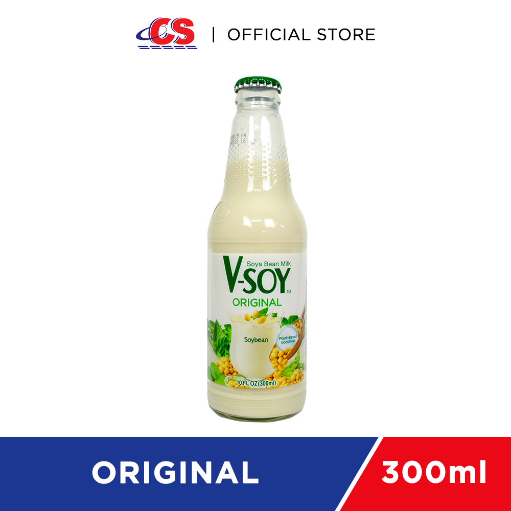 V-SOY Original Soy Bean Milk 300ml